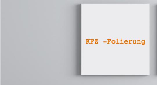 Branding Division - KFZ-Folierung